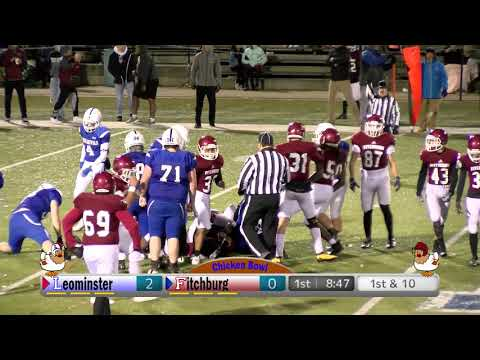 LTV Action Sports LHS Football vs Fitchburg – Chicken Bowl 11-22-19