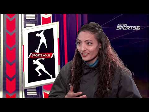 Sports Hour With  Sunita Maharjan | Abhinav Joshi  | Action Sports