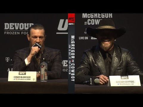 UFC 246: Pre-fight Press Conference Highlights