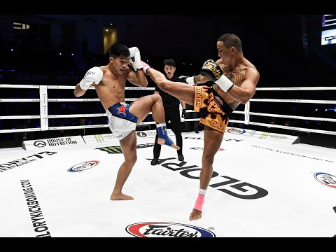GLORY 73: River Daz vs. Hu Binqian (Tournament Semi-Final) – Full Fight
