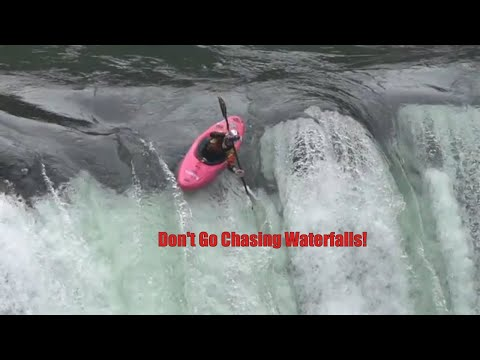 Riding Waterfalls in a Kayak | Extreme Sports