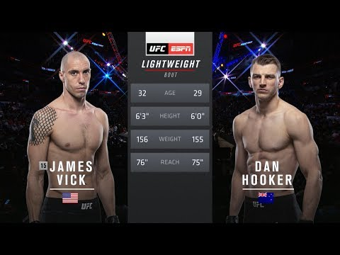UFC Auckland Free Fight: Dan Hooker vs James Vick