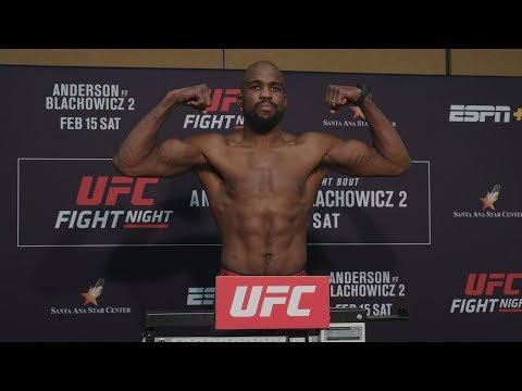 UFC Rio Rancho: Weigh-in