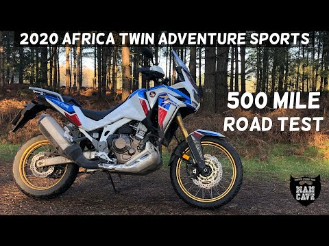 2020 Honda Africa Twin 1100 Adventure Sports – 500 mile Roadtest Review (with exhaust sound!)
