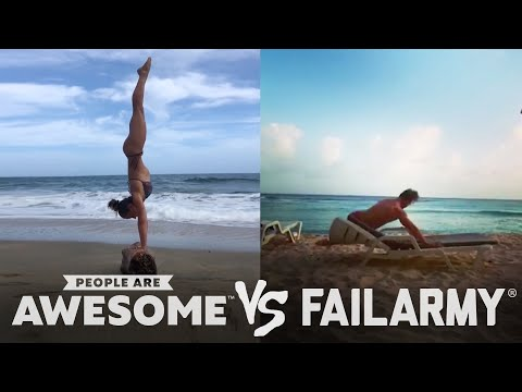 People Are Awesome vs. FailArmy   Golfing, Trickshots & More!