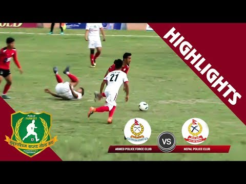 HIGHLIGHTS  – ARMED POLICE FORCE VS NEPAL POLICE CLUB | Nepal Ice 4th Farwest Khaptad Gold Cup 2076