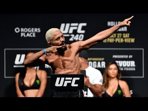 UFC Norfolk: Weigh-in
