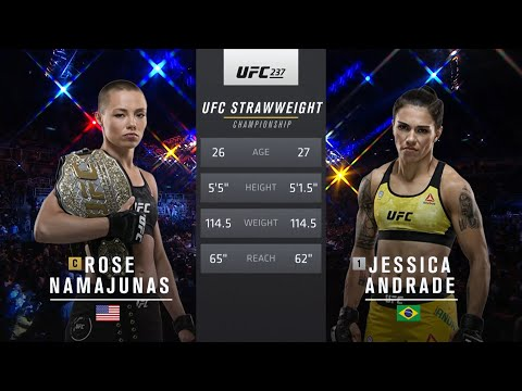 Free Fight: Jessica Andrade vs Rose Namajunas