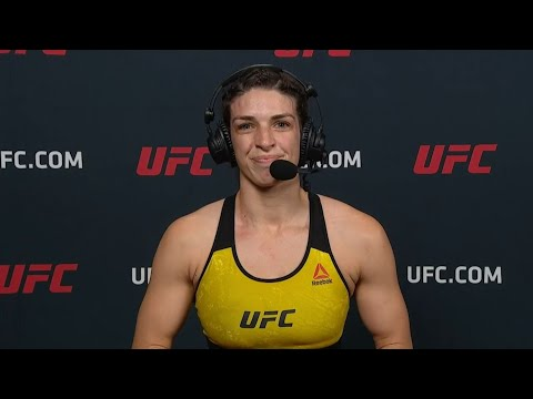 UFC Vegas: Mackenzie Dern Post-fight Interview
