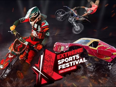 #Extreme Sports Festival Abudhabi 2019#