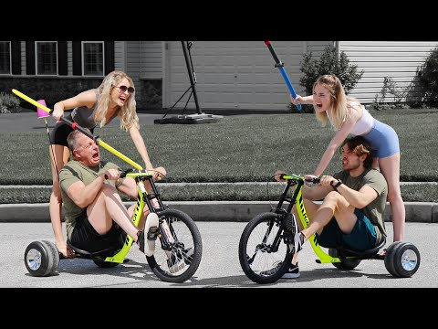 I forced my family to play extreme sports