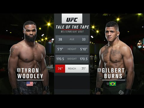 UFC 251 Free Fight: Gilbert Burns vs Tyron Woodley