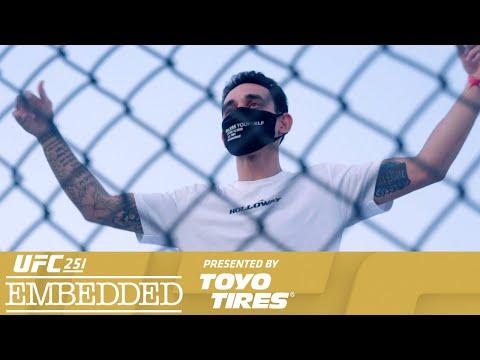 UFC 251 Embedded: Vlog Series – Episode 4