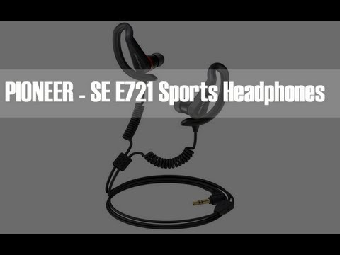 Pioneer SE-E721 Extreme Sports Headphones Unboxing