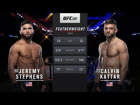 Fight Island Free Fight: Calvin Kattar vs Jeremy Stephens
