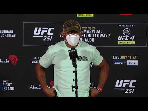 Kamaru Usman shares his thoughts on UFC 251 and opponent replacement