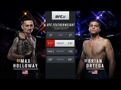 UFC 251 Free Fight: Max Holloway vs Brian Ortega