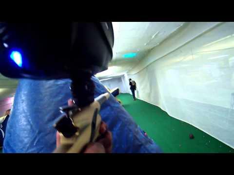 Indoor Extreme Sports Paintball Game 1 Round 1 (etek 4)