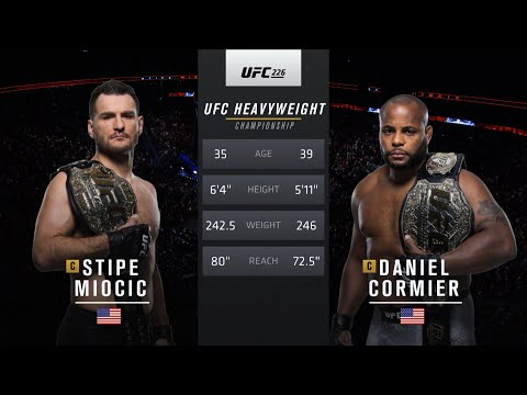 UFC 252 Free Fight: Stipe Miocic vs Daniel Cormier 1