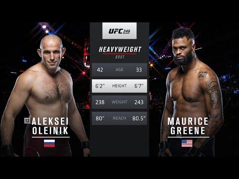 Free Fight: Aleksei Oleinik vs Maurice Greene