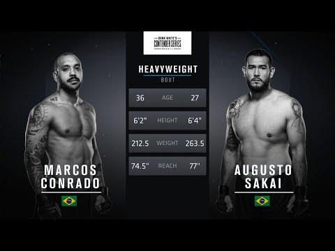 Free Fight: Augusto Sakai vs Marcos Conrado
