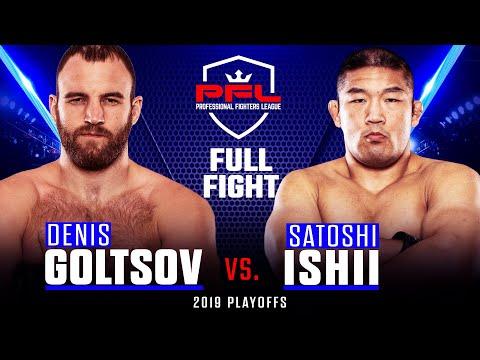 Full Fight | Denis Goltsov vs Satoshi Ishii (Heavyweight Quarterfinals) | 2019 PFL Playoffs