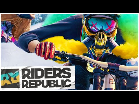 Riders Republic FIRST LOOK Was CRAZY! | Massively Multiplayer Extreme Sports Game