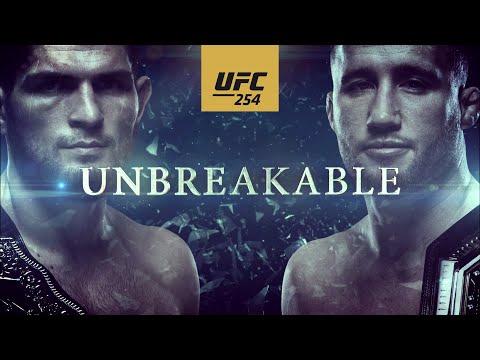 UFC 254: Khabib vs Gaethje – Unbreakable | Official Trailer