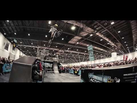 Animal WD-40 Action Sports Tour at The London Bike Show 2014