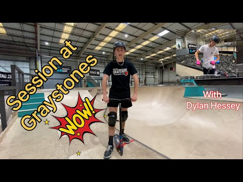 PRO SCOOTER AND PRO BMX session at Graystone Action Sports
