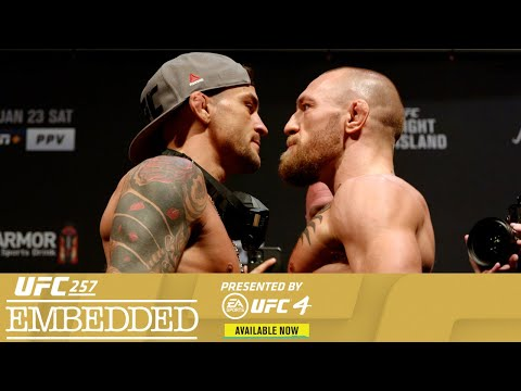 UFC 257 Embedded: Vlog Series – Episode 6