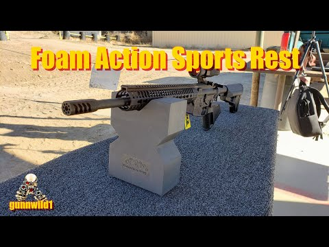 Foam Action Sports Rest