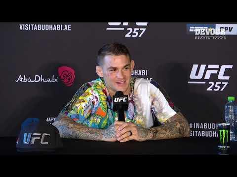 UFC 257: Dustin Poirier Post-fight Press Conference