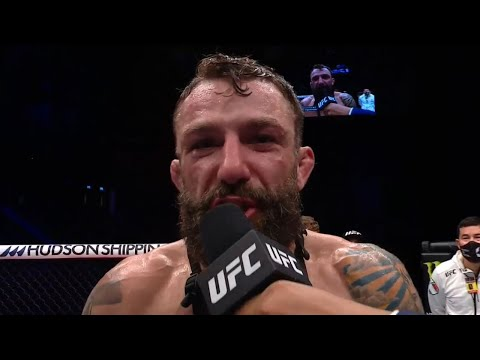 Fight Island 8: Michael Chiesa Octagon Interview