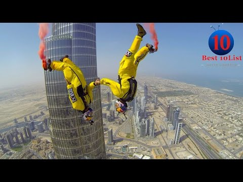 World Top 10 Most Extreme Sports