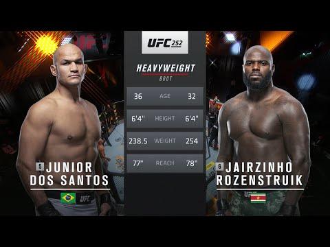 UFC Vegas 20 Free Fight: Ciryl Gane vs Junior dos Santos