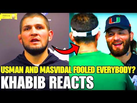 UFC champ and his opponent FOOLED UFC community? Kamaru Usman vs. Jorge Masvidal 2, McGregor/Khabib