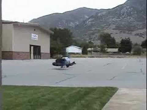 Extreme sports crashes
