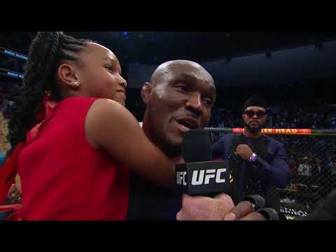 "UFC 261: Kamaru Usman Octagon Interview | ""Y'all Said You Wanted Violence"""