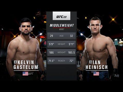 UFC Vegas 24 Free Fight: Kelvin Gastelum vs Neil Heinisch