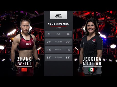UFC 261 Free Fight: Zhang Weili vs Jessica Aguilar