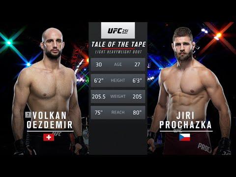 UFC Vegas 25 Free Fight: Jiri Prochazka vs Vokan Oezdemir
