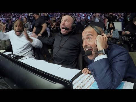 UFC 261 Commentator Booth Reactions