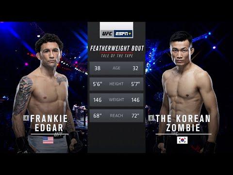 UFC Vegas 29 Free Fight: Korean Zombie vs Frankie Edgar