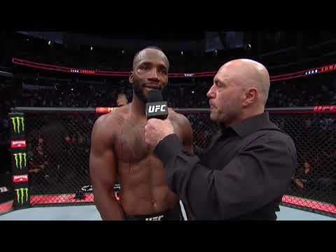 UFC 263: Leon Edwards Octagon Interview