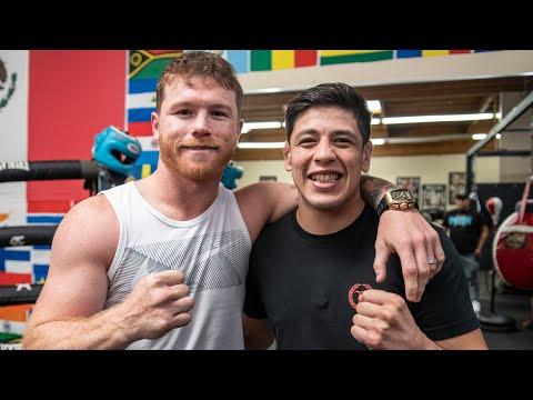Brandon Moreno Meets Canelo Alvarez