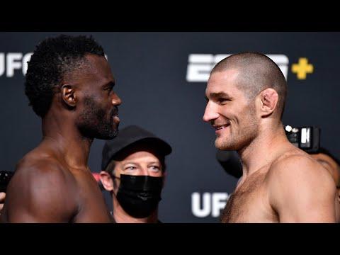 UFC Vegas 33: Weigh-in Faceoffs