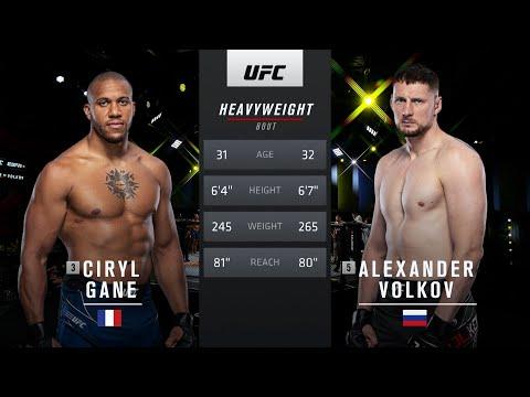 UFC 265 Free Fight: Ciryl Gane vs Alexander Volkov