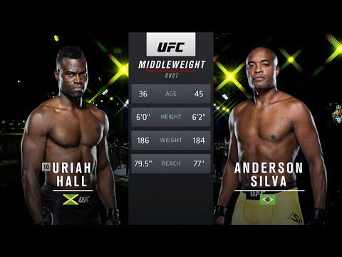 UFC Vegas 33 Free Fight: Uriah Hall vs Anderson Silva