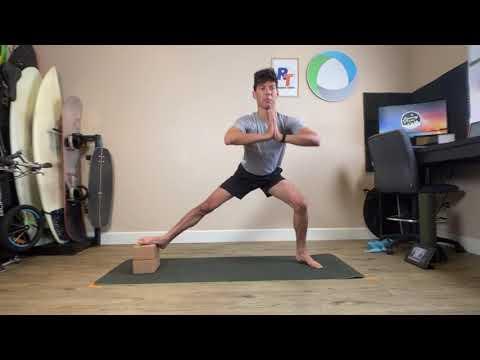 Action Sports 15 Min Yoga Style Leg Workout (NO EQUIPMENT!)